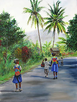 Walking Home 2 by Jonathan Guy-Gladding JAG