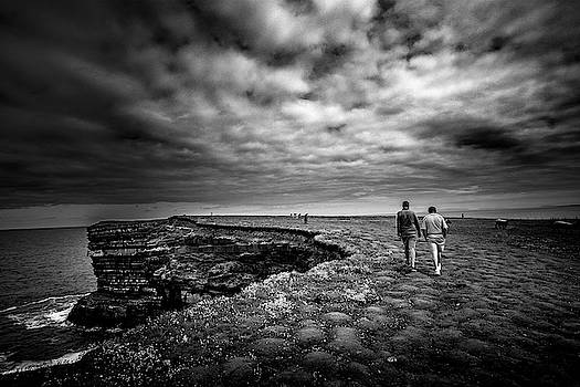 Walking To The Edge by Alan Campbell