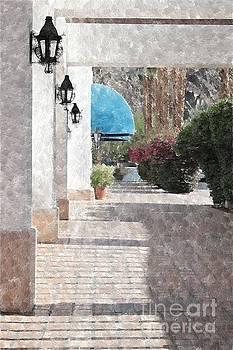 Walkway by Katherine Erickson