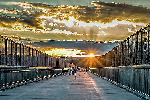 Walkway Over the Hudson by Jeffrey Friedkin