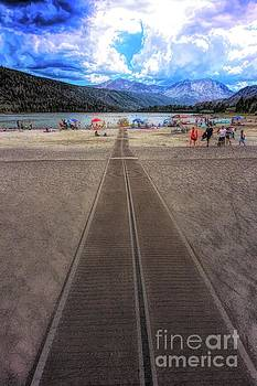 Walkway to June Lake by Joe Lach