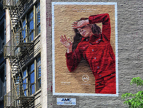 Wall Ad New York City by Dave Mills
