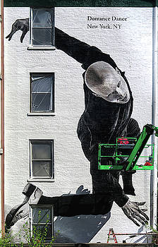 Wall Mural, New York City by Dave Mills