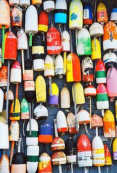 Sharon Williams Eng - Wall of Buoys