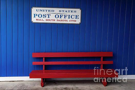 Wall Post Office by Carol Bilodeau