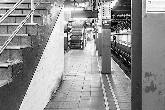 Sharon Popek - Wall Street Station Black and White