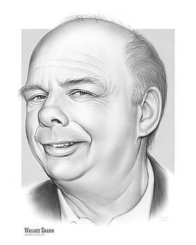 Wallace Shawn by Greg Joens