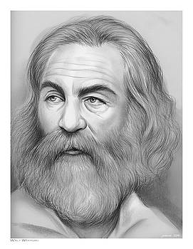 Walt Whitman by Greg Joens
