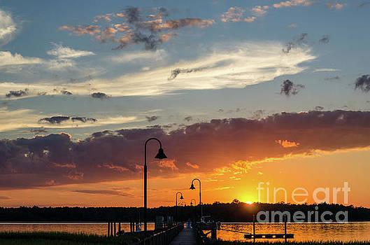 Dale Powell - Wando River - Palmetto Sunrise
