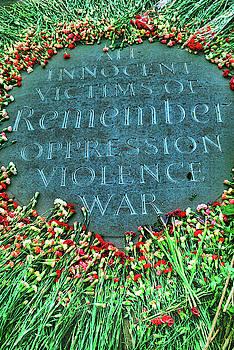 War Memorial Plaque by David Smith