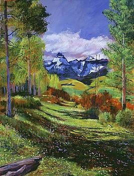 Warm Mountain Valley by David Lloyd Glover