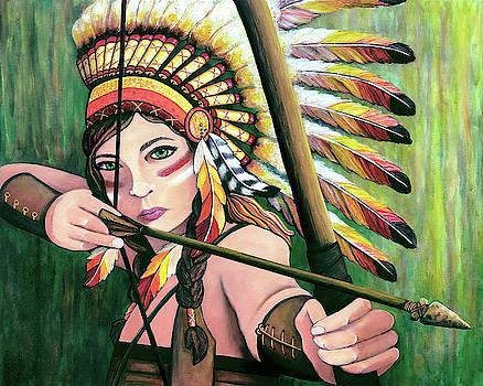Warrior Princess by Jennifer Allison