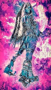 Warrior women by Matra Art