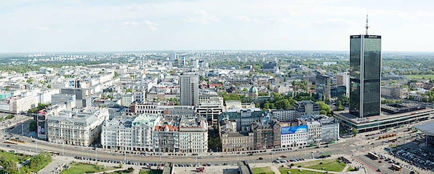 Ramunas Bruzas - Warsaw New City Panorama
