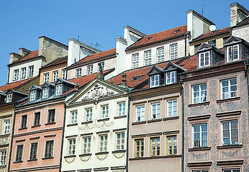 Ramunas Bruzas - Warsaw Old Town Houses