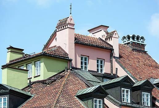 Ramunas Bruzas - Warsaw Roofs