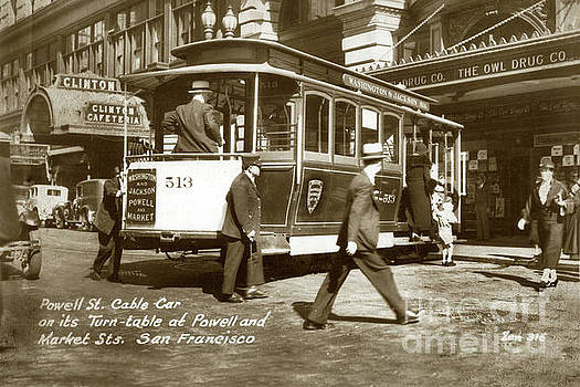 California Views Archives Mr Pat Hathaway Archives - Washington and Jackson and Powell and Market Streets Cable Ca