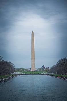 Washington D.C. Monument I by Dawn Wayand