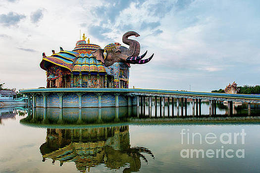 Wat Ban Rai, the Elephant Temple2 by Lee Craker
