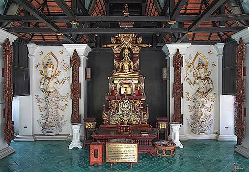 Wat Puack Chang Merit Pavilion Buddha Image DTHCM0164 by Gerry Gantt