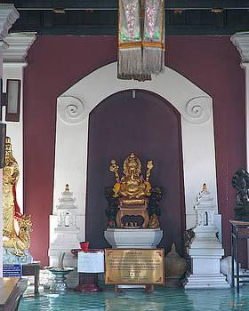 Wat Puack Chang Merit Pavilion Ganesha Image DTHCM0165 by Gerry Gantt