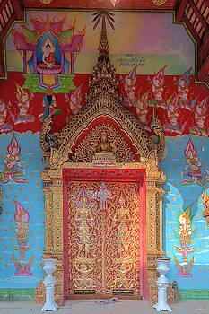 Wat Puack Chang Phra Wihan Center Doors DTHCM0161 by Gerry Gantt