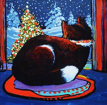 Watching and Waiting.  Santa Will Come Soon by Catherine Robertson