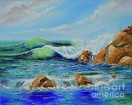 Watching the Waves by Mary Scott