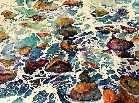 Water and Rocks by Beth Fontenot