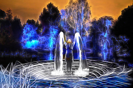 Water Angel by Lisa Yount