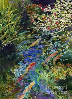 Water Garden by Hailey E Herrera