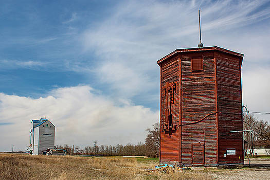 Water Tower at Clearwater by Steve Boyko