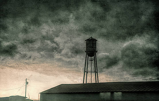 Water Tower #textured by Andrea Anderegg