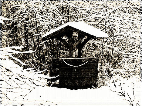 Water Well - Vintage by Marie Jamieson