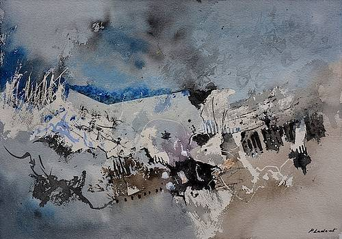 Watercolor abstract 5491104 by Pol Ledent
