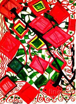 Watercolor Abstract by Debra Lynch