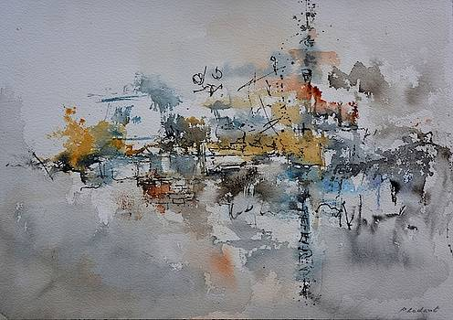 Watercolor Pearl Harbour  by Pol Ledent