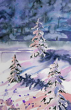 Watercolor - Winter in Pastel by Cascade Colors