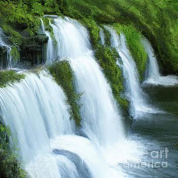 Waterfall by Anne Vis