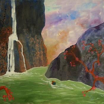 Waterfall by David Mintz