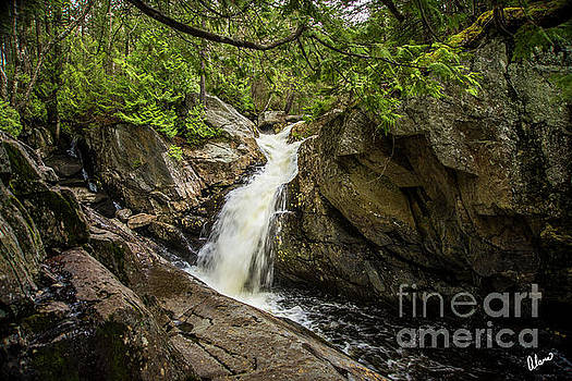Waterfall Rangeley by Alana Ranney