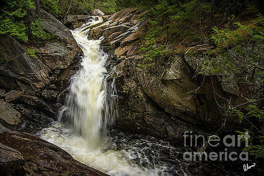Waterfall Rangeley III by Alana Ranney