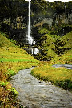 Waterfall with Stream by John Wilkinson