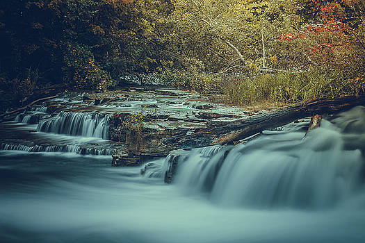 Waterfalls in the Fall. by Johnathan Erickson