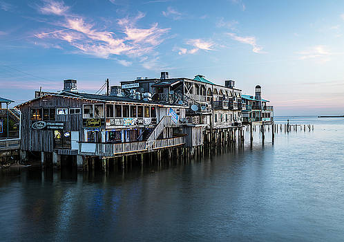 Waterfront Sunrise... by Kevin Evans