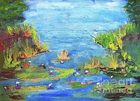 Sharon Williams Eng - Waterlily Salt Marsh