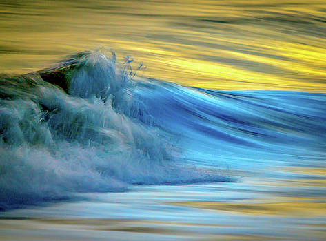 Wave Ocean Abstract by R Scott Duncan