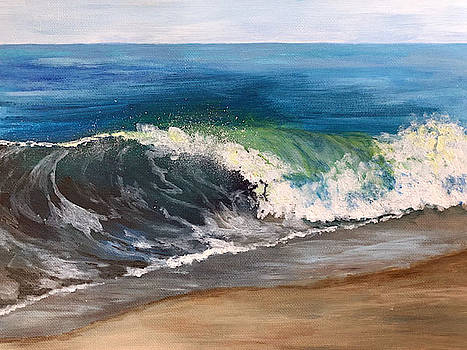 Wave Study by Nancy Goldman