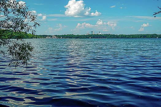 Waves on Lake Harriet by Susan Rydberg