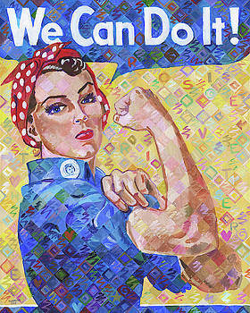 We Can Do It Rosie The Riveter by Randal Huiskens